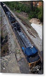 Coal Crossing Acrylic Print