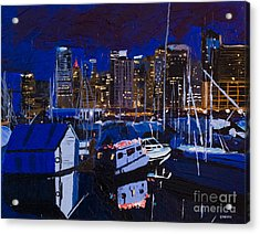 Coal Harbour Acrylic Print by Ginevre Smith