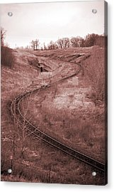 Coal Line S Acrylic Print by Jame Hayes