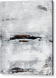 Coast # 10 Seascape Landscape Original Fine Art Acrylic On Canvas Acrylic Print