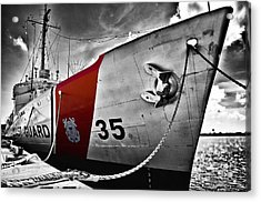 Coast Guard Acrylic Print by Alessandro Giorgi Art Photography