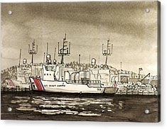 Coast Guard Base Portsmouth Acrylic Print