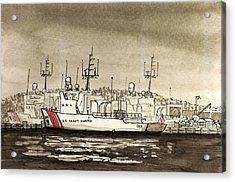 Coast Guard Base Portsmouth Acrylic Print