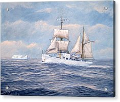 Coast Guard Cutter Northland Acrylic Print by William H RaVell III