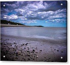 Coast Acrylic Print by Martin Newman