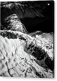 Coast Mountain Spring Acrylic Print