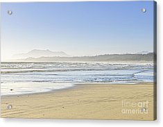 Coast Of Pacific Ocean On Vancouver Island Acrylic Print by Elena Elisseeva