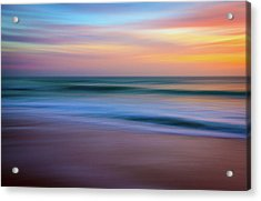 Coastal Abstract Acrylic Print