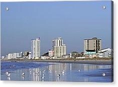 Coastal Architecture Acrylic Print