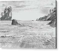 Coastal Beach Acrylic Print