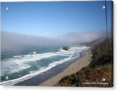 Coastal Beauty Acrylic Print by Lindsay Duff