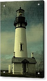 Coastal Breeze At Yaquina Head Acrylic Print