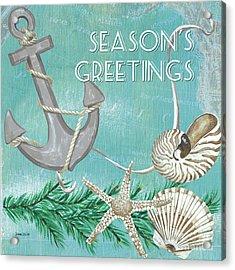 Coastal Christmas 4 Acrylic Print by Debbie DeWitt