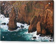 Coastal Detail Acrylic Print by Gaspar Avila