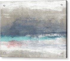 Coastal Escape-abstract Art By Linda Woods Acrylic Print