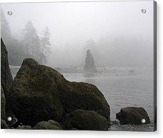 Coastal Fog Acrylic Print by Ty Nichols