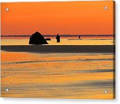 Coastal Glow Acrylic Print