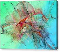 Coastal Kite Acrylic Print by Betsy C Knapp