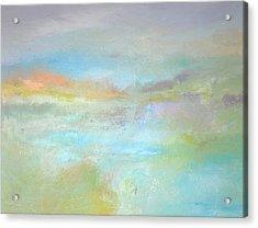 Coastal Mist Acrylic Print by Filomena Booth