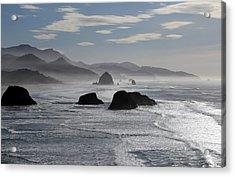 Coastal Mist Acrylic Print by Randall Brewer