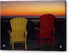 Coastal Mornings Acrylic Print