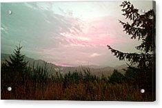 Coastal Mountain Sunrise Viii Acrylic Print