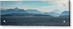 Coastal Mountains Acrylic Print