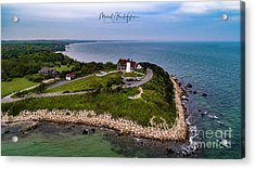 Coastal Nobska Point Lighthouse Acrylic Print