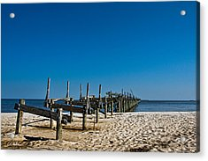 Coastal Remains Acrylic Print by Christopher Holmes