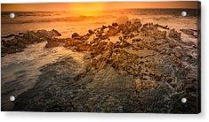 Coastal Rocks Acrylic Print