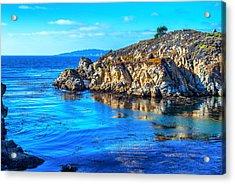 Coastal Seascape Acrylic Print by Joseph S Giacalone