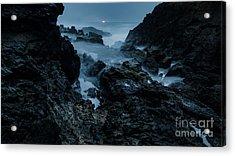 Coastal Trail Long Exposure Acrylic Print