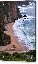 Coastal View At Big Sur Acrylic Print