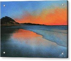 Coastal Walk Vii  Acrylic Print by Robin Street-Morris