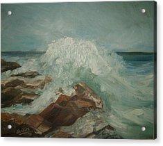 Coastal Waters Acrylic Print by Joseph Sandora Jr