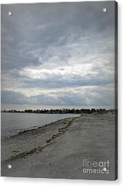 Acrylic Print featuring the photograph Coastal Winter by Kristine Nora