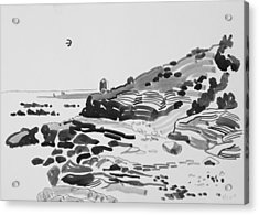 Coastline Of The Spain Acrylic Print by Vitali Komarov