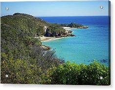 Coastline Views On Moreton Island Acrylic Print