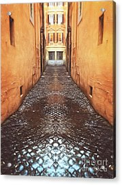 Cobblestone Acrylic Print by HD Connelly