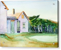 Cobb's House After Edward Hopper Acrylic Print