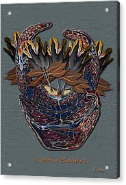 Cobra Basket Acrylic Print by Jerry White