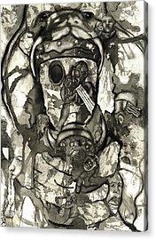 Cobra Acrylic Print by Valera Ainsworth