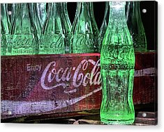 Coca-cola As Art Acrylic Print