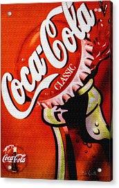 Coca Cola Classic Acrylic Print