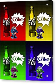 Coca-cola Forever Young 12 Acrylic Print