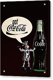 Coca-cola Forever Young 18 Acrylic Print