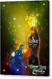 Coca-cola Forever Young 3 Acrylic Print