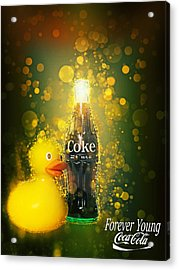 Coca-cola Forever Young 5 Acrylic Print
