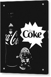 Coca-cola Forever Young 9 Acrylic Print
