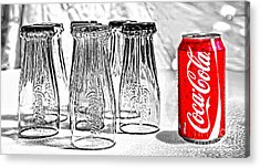 Coca-cola Ready To Drink By Kaye Menner Acrylic Print